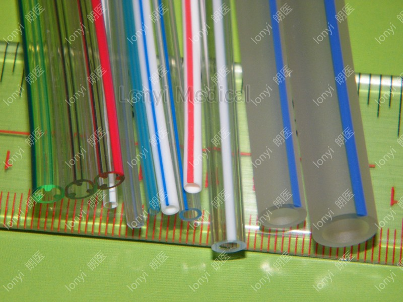 co-extrusion tubing with two colors